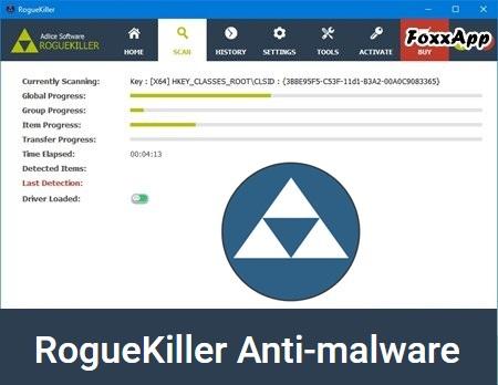 RogueKiller Anti-Malware 13.1