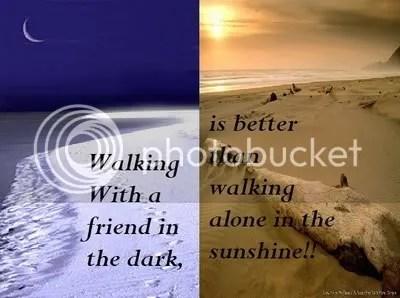 walking friend