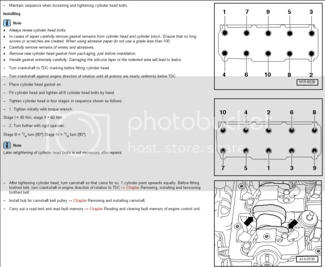 Torque Wrench Setting For Cylinder Head Bolts | hobbiesxstyle
