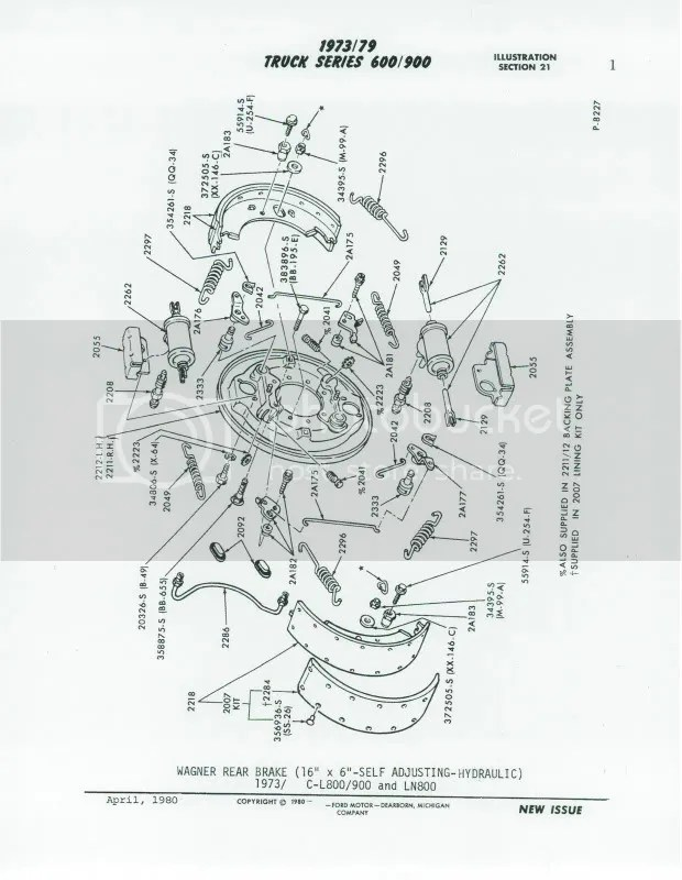 Ford F800 Brake Diagram. Ford. Wiring Diagram Images