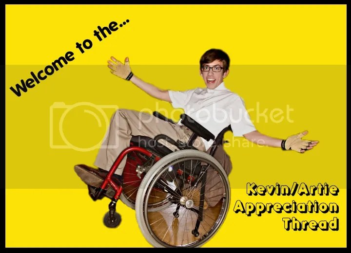 wheelchair glee neutral posture ergonomic chair artie kevin mchale 1 because s the best dancer and he in a fan forum