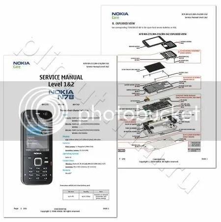 بورد صيانة الجوال Nokia N78 من الالف الى الياء