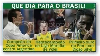 brasil volei futebol pan