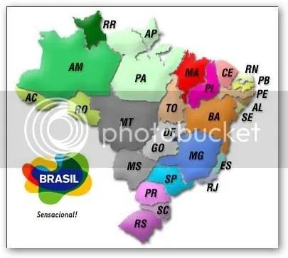 sigla dos estados brasileiros