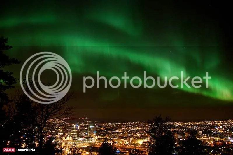Northern Lights Oslo 2017