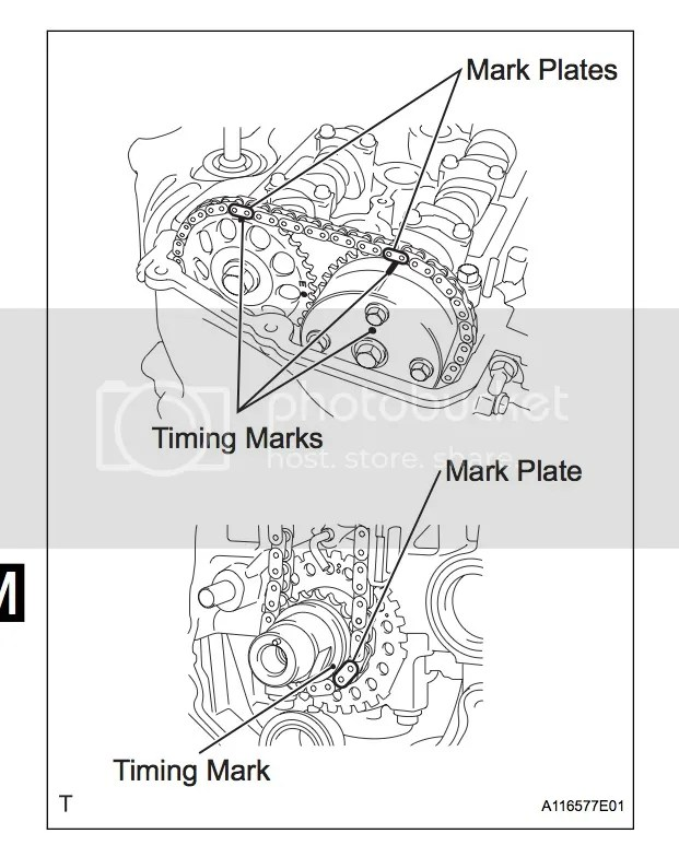 Service manual [2009 Toyota Yaris Timing Cover Gasket