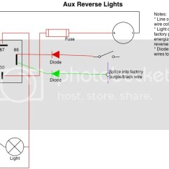 Car Led Light Wiring Diagram 2007 Honda Civic Serpentine Belt Backup Lights All Data To Reverse Schema Into