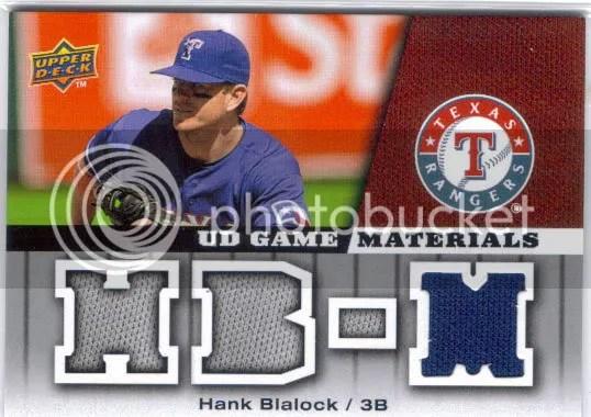 Hank Blalock Jersey