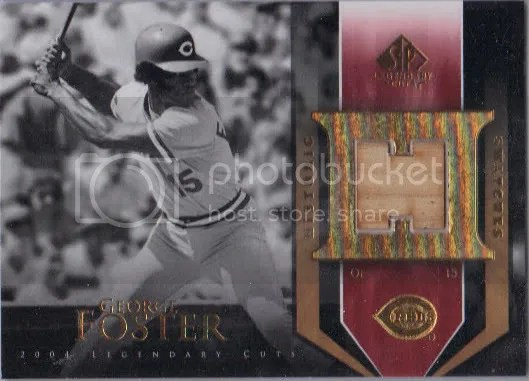 George Foster Bat