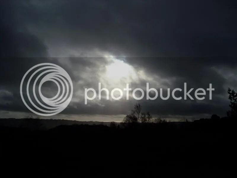 Sky Over Stanton Moor