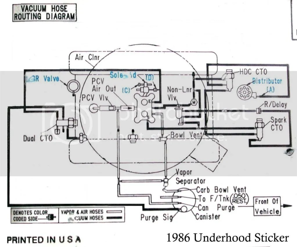 1986 Jeep Grand Wagoneer Vacuum Diagram. Jeep. Auto Parts