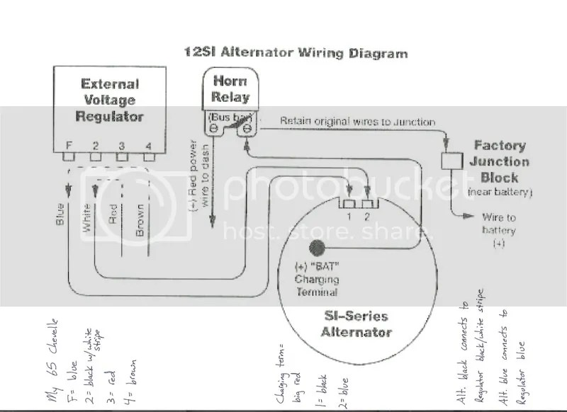 64 Chevelle Voltage Regulator Wiring Diagram. 64. Wiring
