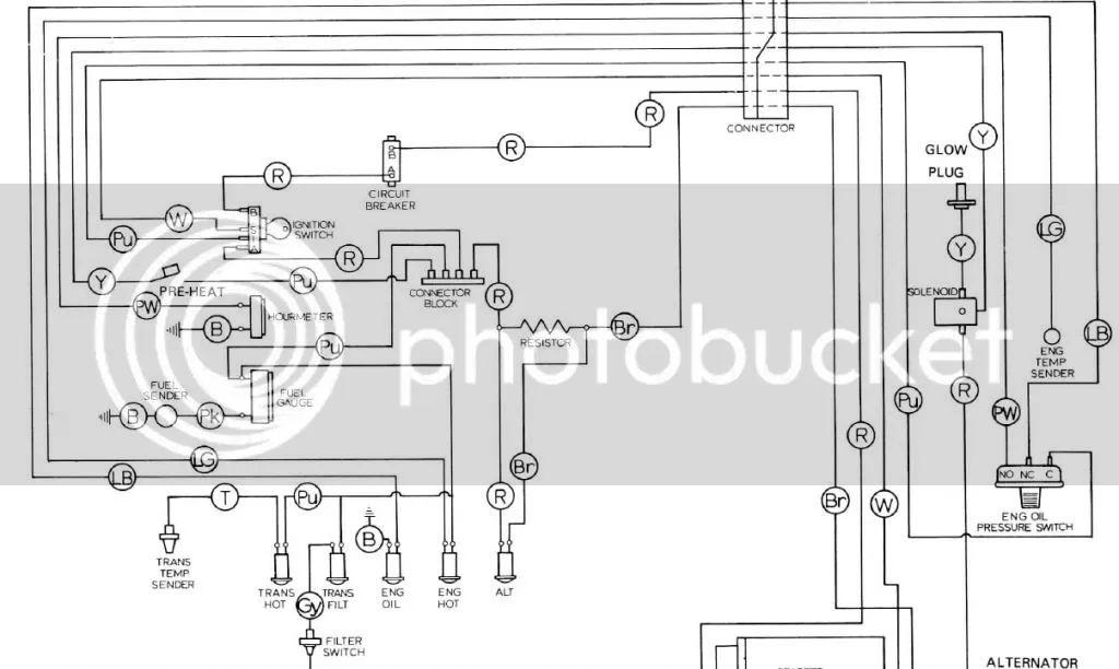 jcb 4cx wiring diagram of ignition switch