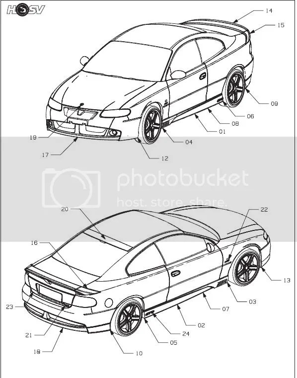Vauxhall Monaro Ledningsdiagram
