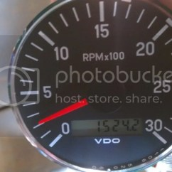 Vdo Tachometer With Hour Meter Wiring Diagram 1972 Super Beetle Jcb 212 Hourmeter Fix So I Split The Pc S From Lcd On Both Gauges Removed Faces And Put Old Face New