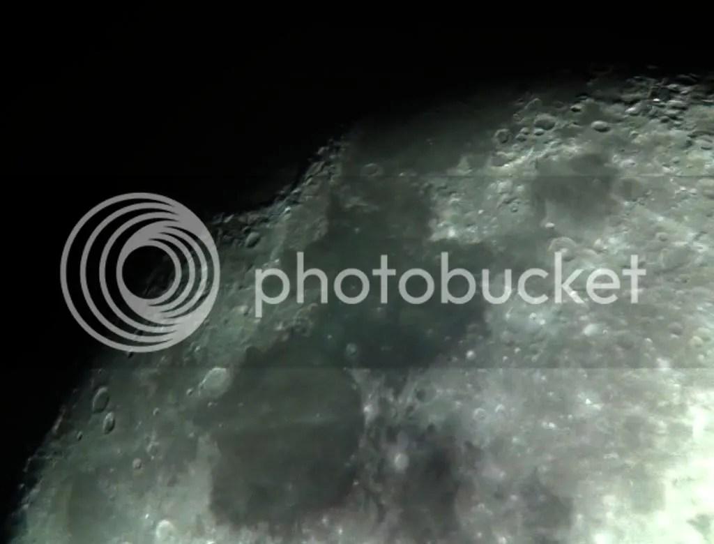 ASTRONOMIE LUNA TELESCOP
