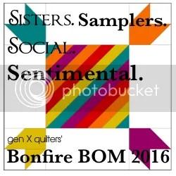 Gen X Quilters Bonfire BOM