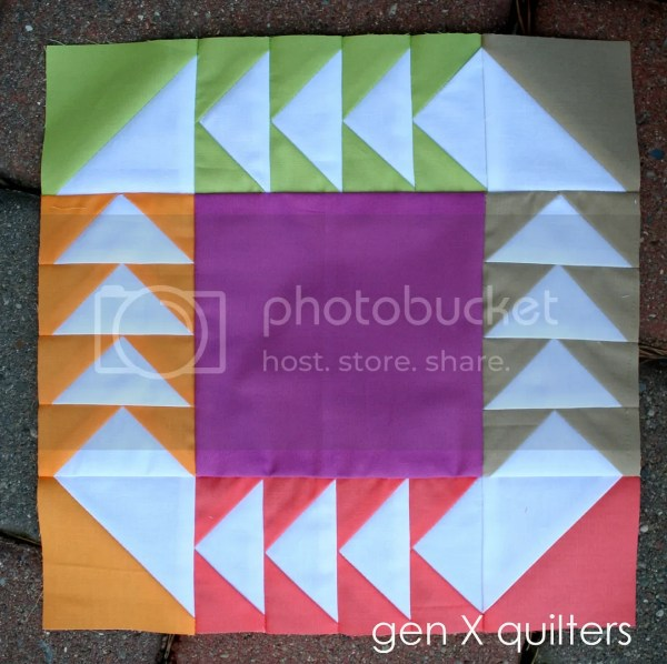 Genxquilters Modern Traditional Quilting Block Of