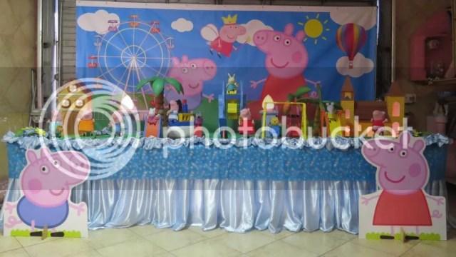 Festa Tema Peppa pig