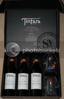 Tintara 2004 SV Shiraz Box Set