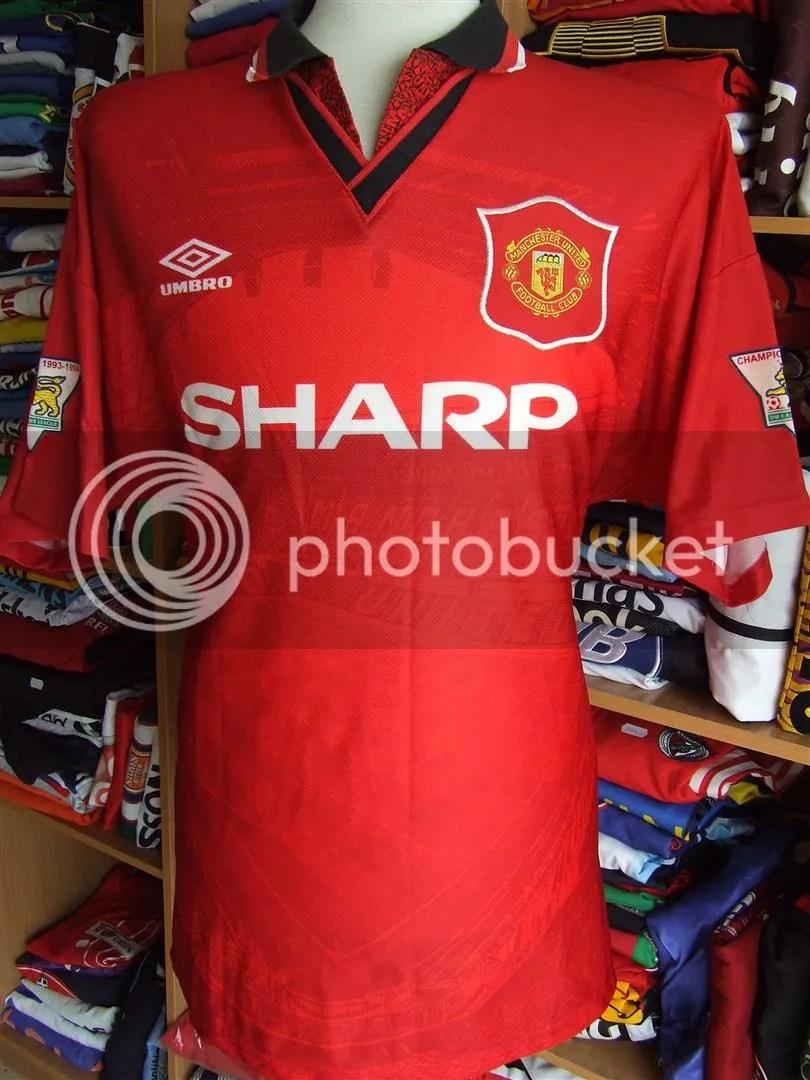 Vous achetez ce qu'il y'a sur les photos maillot magnifique maillot de la légende de oltra ford éric cantona. Vintage Shirt Manchester United 1994/95 (XL)#7 Cantona ...