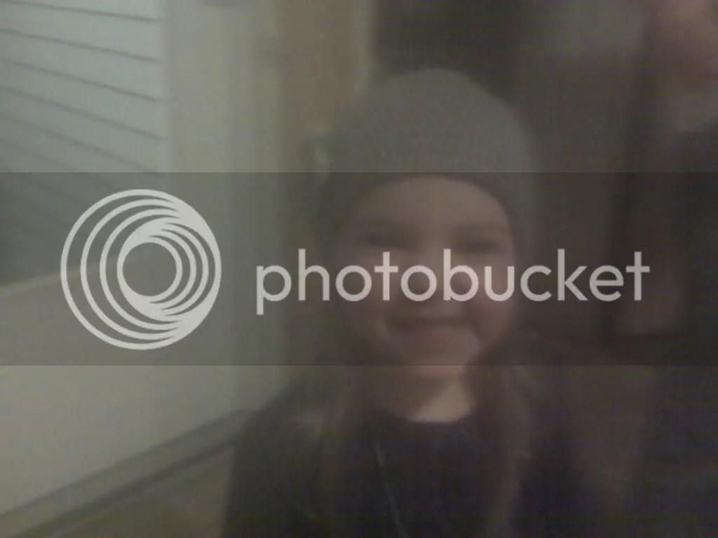 Blurry hat
