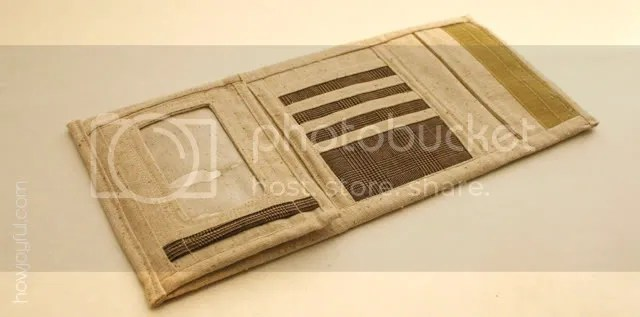 sewed wallet