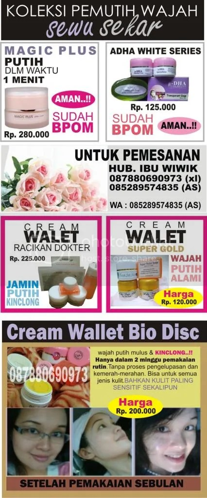 Magic Plus White Cream Lejel Home Shopping Surabaya
