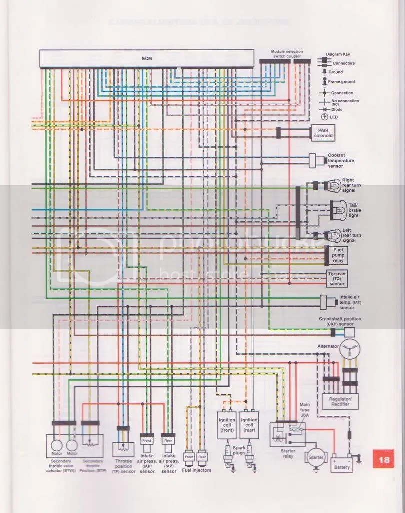 bmw s50 wiring diagram automobile alternator 2005 suzuki boulevard c50 schematic library wire color codes for 07 c 50 tail brakelamp volusia forums intruder 1500