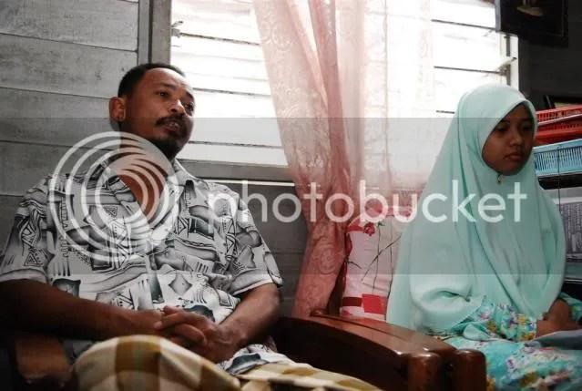 Encik Nik Mohd Kamal, ayah kepada Nur Madihah, memberikan kepercayaan sepenuhnya kepada anak beliau untuk berjaya dalam pelajaran.