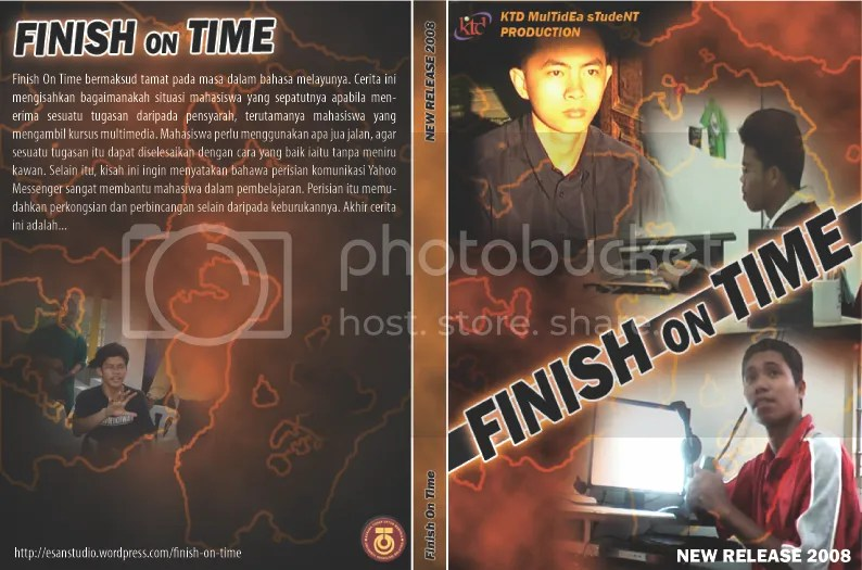 finish on time dvd cover