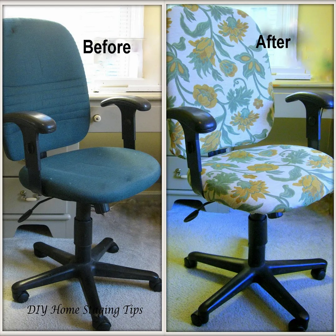 desk chair diy saarinen womb replica home staging tips an easy way to dress up the