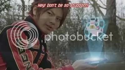 Sōsuke (Go-on Red) & Speedor