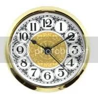 Clock Parts Large Clock Face Inserts-3
