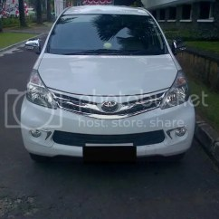 Grand New Avanza G 1.3 Putih All Toyota Camry 2019 Malaysia 1 3 Manual Th 2012 Warna Plat F