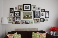 living room photo collage  One Lovely Life