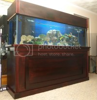 My 125g with DIY stand, canopy and sump | 3reef Aquarium ...