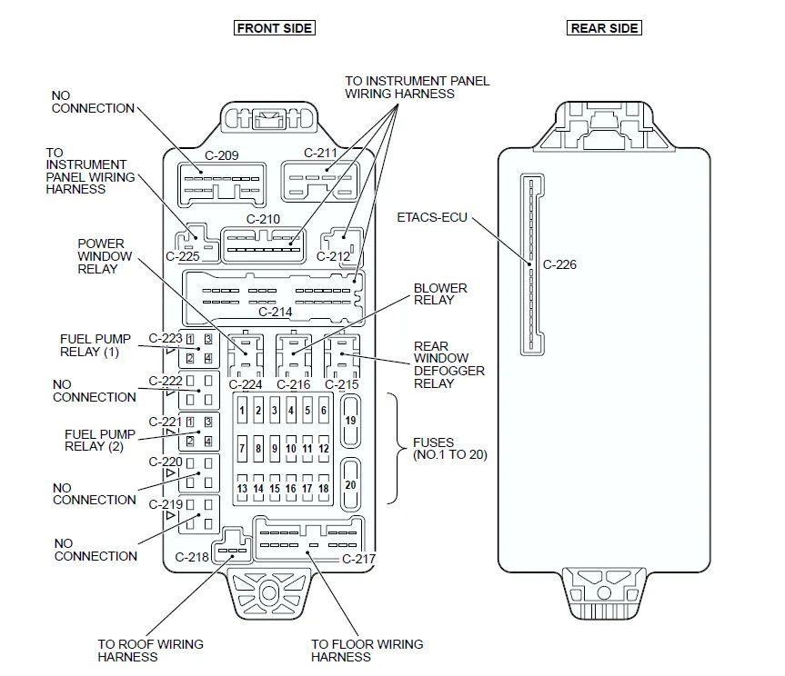 03 lancer fuse box diagram