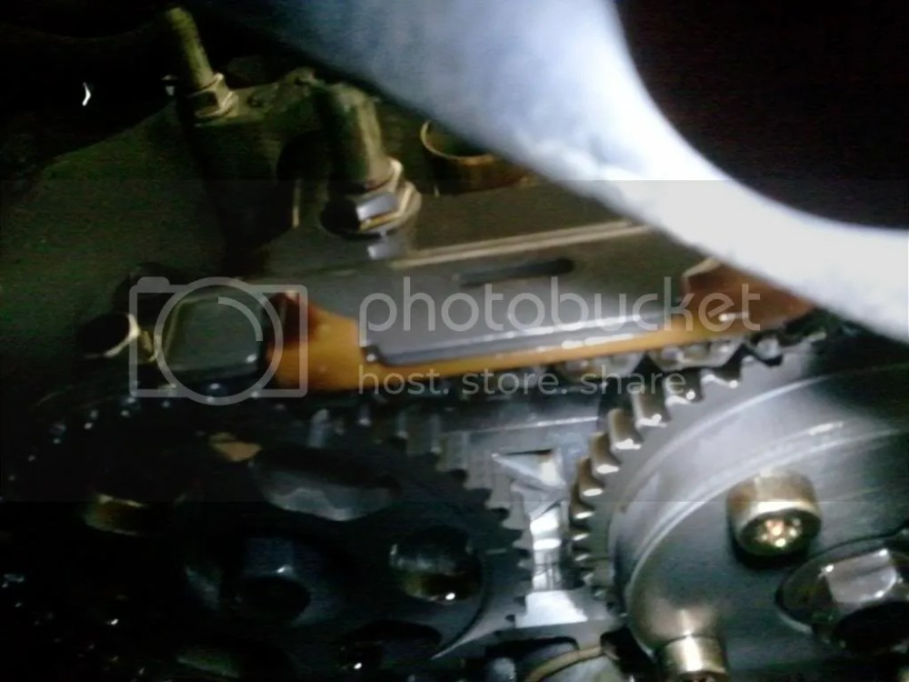 medium resolution of i have attached a pic of the timing when i pulled the valve cover off