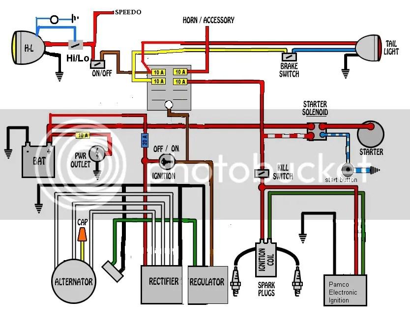 xs650 bobber wiring diagram,