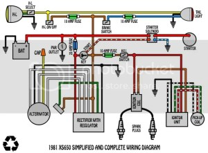 some wiring diagrams | Yamaha XS650 Forum