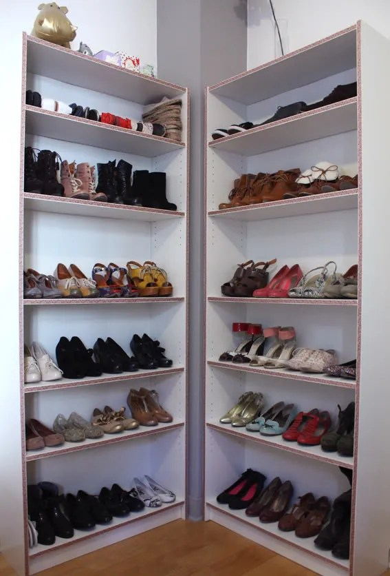 Etagere Chaussure Ikea Bois
