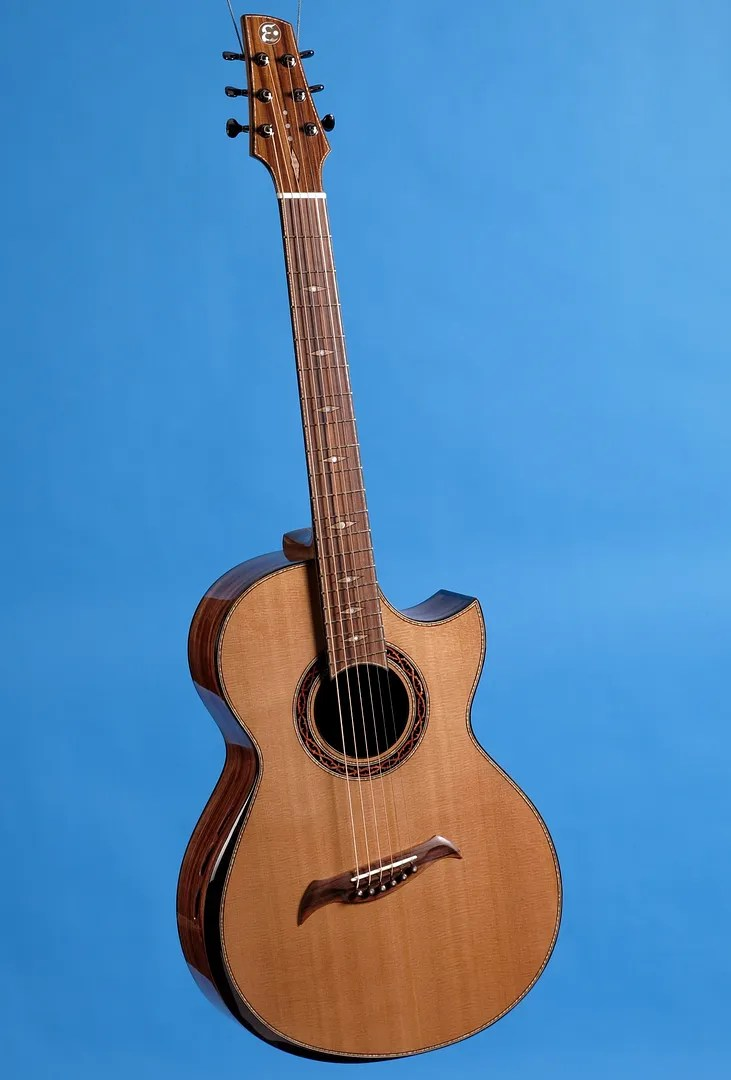 Padauk Wood Guitar