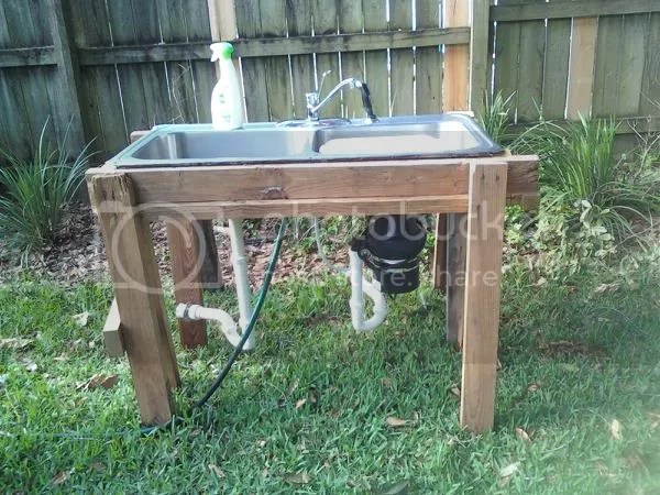 Thank You For The Outdoor Sink Idea