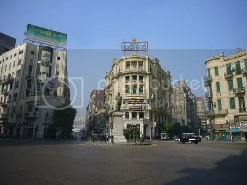 Talaat Harb Square - our final stop