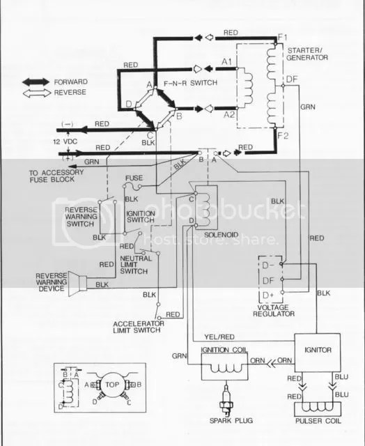 L 398 Ezgo Wiring Diagram