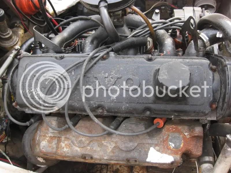 4 Cylinder Volvo Penta Cooling System