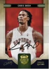 09/10 Panini Court Kings Chris Bosh Artistry Auto