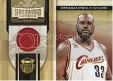 09/10 Panini Court Kings Shaquille O'neal Heroes Jersey