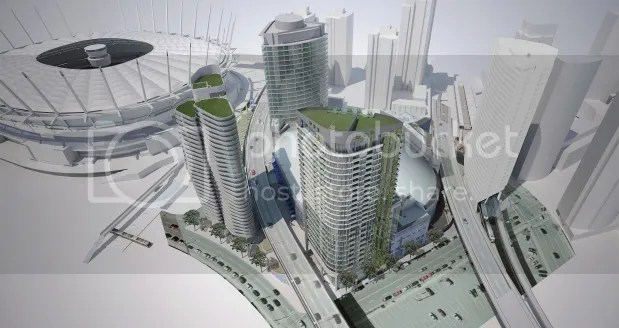 Rogers Arena Towers Render
